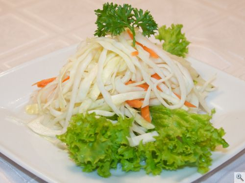 Édes savanyú káposzta saláta